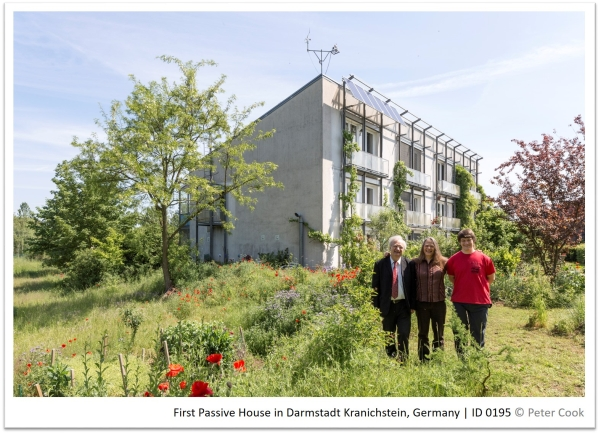 First Passive House in Darmstadt