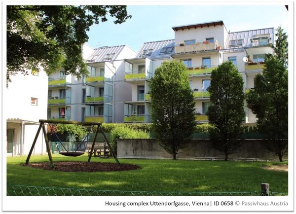 Passive House complex Uttendorfgasse