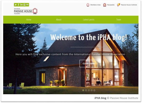 International Passive House Association Blog