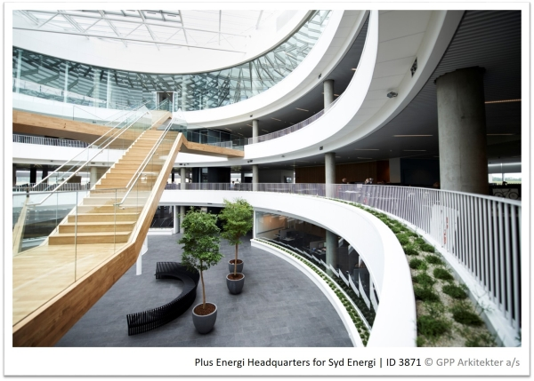 Passive House Headquarters for Syd Energi