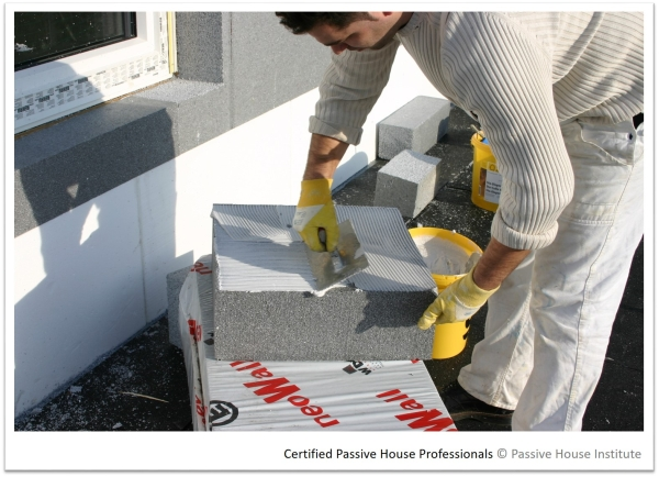 Certified Passive House Tradespeople