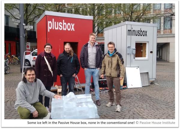 Passive House Iceblock challenge